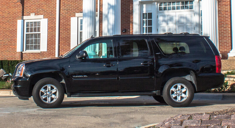 suv black car for corporate transporations