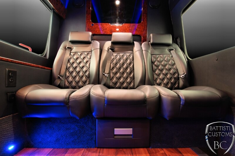 Mercedes Sprinter Bentley Style Captains Chairs