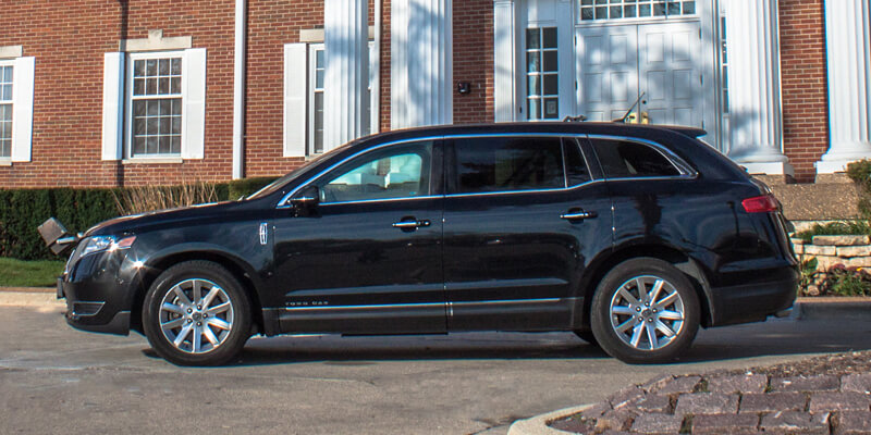 1-3 Passengers Lincoln MKTLUV is part of Amms LImousine Sedan Fleet